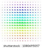 shipment van icon spectral...   Shutterstock .eps vector #1080695057