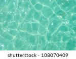light green water ripple... | Shutterstock . vector #108070409