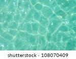 Light Green Water Ripple...