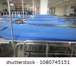 bed for patients in a hospital | Shutterstock . vector #1080745151