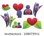 vector collection of health...   Shutterstock .eps vector #108075911