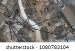 aerial view of crushed stone...   Shutterstock . vector #1080783104