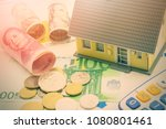 home loan   reverse mortgage or ... | Shutterstock . vector #1080801461