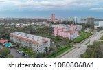 aerial view of boca raton... | Shutterstock . vector #1080806861