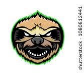 mascot icon illustration of... | Shutterstock .eps vector #1080812441
