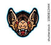 mascot icon illustration of...   Shutterstock .eps vector #1080812444