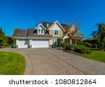 big custom made luxury house... | Shutterstock . vector #1080812864