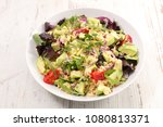 quinoa salad with tomato and... | Shutterstock . vector #1080813371