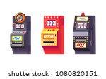 slot machines  electronic... | Shutterstock .eps vector #1080820151
