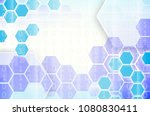 abstract technological... | Shutterstock . vector #1080830411