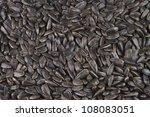 photo of seeds of a sunflower... | Shutterstock . vector #108083051