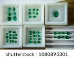 emeralds and gemstones to... | Shutterstock . vector #1080895301