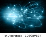 best internet concept of global ... | Shutterstock . vector #108089834