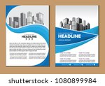 brochure design  cover modern... | Shutterstock .eps vector #1080899984