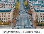 paris  france  april 9  2018 ... | Shutterstock . vector #1080917561