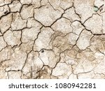 cracked earth clay as a... | Shutterstock . vector #1080942281