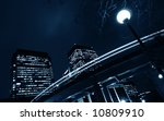 canary wharf the business... | Shutterstock . vector #10809910