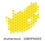 map of south africa | Shutterstock .eps vector #1080996005