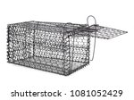 Mousetrap  Rat Cage  Isolated...