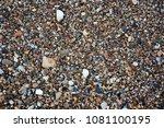 aggregates along the shore of... | Shutterstock . vector #1081100195
