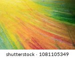 abstract drawing on paper whit... | Shutterstock . vector #1081105349