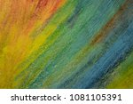abstract drawing on paper whit... | Shutterstock . vector #1081105391