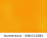 orange comic pop art halftone... | Shutterstock .eps vector #1081112081