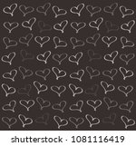 background of hearts | Shutterstock . vector #1081116419
