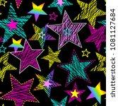 seamless pattern for girls.... | Shutterstock .eps vector #1081127684