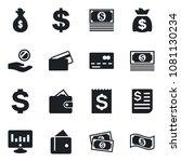 set of vector isolated black... | Shutterstock .eps vector #1081130234