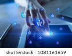e commerce. internet shopping.... | Shutterstock . vector #1081161659