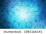 light blue vector doodle bright ... | Shutterstock .eps vector #1081166141