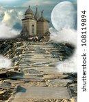Fantasy Temple In The Rocks...