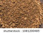 black instant coffee | Shutterstock . vector #1081200485