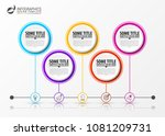 infographic design template.... | Shutterstock .eps vector #1081209731