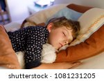 little preschool kid boy... | Shutterstock . vector #1081231205