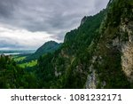 mountains with clouds ath the... | Shutterstock . vector #1081232171