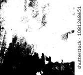 grunge mess blot background.... | Shutterstock .eps vector #1081268651