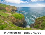 Small photo of Beautiful Dramatic Coastline on The Lizard Peninsula, Cornwall, UK.