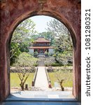 imperial tomb in imperial city... | Shutterstock . vector #1081280321