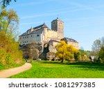 kost castle in bohemian... | Shutterstock . vector #1081297385