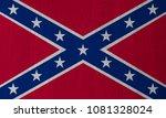 Dixie  Confederate Flag On A...