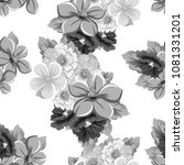 seamless floral pattern. for... | Shutterstock .eps vector #1081331201