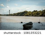 landscape of a canoe on the Poty River in the city of Teresina