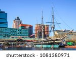 baltimore  maryland  usa  ... | Shutterstock . vector #1081380971