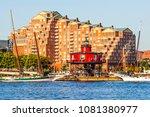 baltimore  maryland  usa  ... | Shutterstock . vector #1081380977