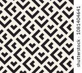 vector seamless lines mosaic... | Shutterstock .eps vector #1081404641