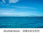 horizon of the sea ocean and... | Shutterstock . vector #1081421525