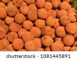 fruit wallpaper  pile of fruit   Shutterstock . vector #1081445891