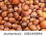 fruit wallpaper  pile of fruit   Shutterstock . vector #1081445894